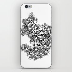Abstract 65581081 iPhone & iPod Skin