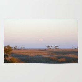 Moonrise on the Salt Marsh Rug