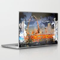louis Laptop & iPad Skins featuring St Louis by Robin Curtiss
