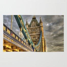 Sunset at Tower Bridge Rug