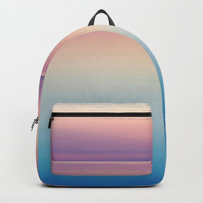 Rainbow Sunset Ocean Backpack