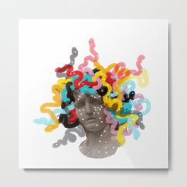 awesome hair day Metal Print