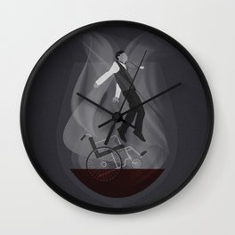 Alternate 'Gattaca' Movie Poster Art Wall Clock