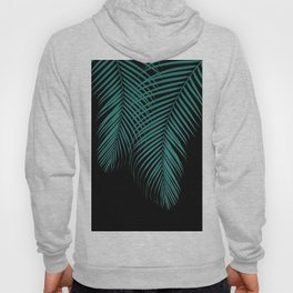 Summer Night Palm Leaves #1 #tropical #decor #art #society6 Hoody