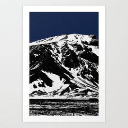 Blue Mountain I Art Print