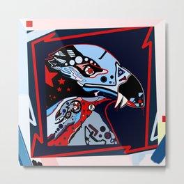 Alienated american eagle Metal Print