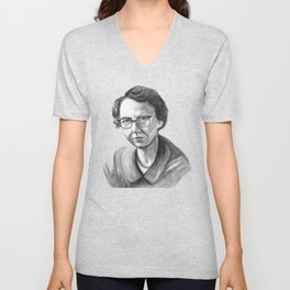 Flannery O'Connor Unisex V-Neck
