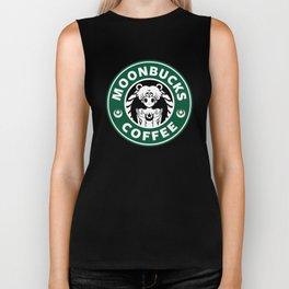 Moonbucks Coffee Biker Tank