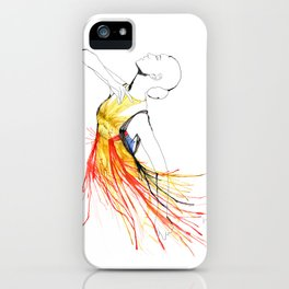 Yulia iPhone Case