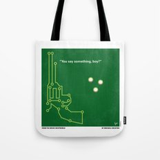 No231 My Westworld minimal movie poster Tote Bag
