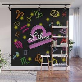 Libra Floating Zodiac Wall Mural