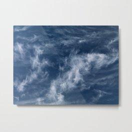 Cirrus Clouds 2 Metal Print