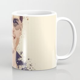 Tom Cruise splatter painting Coffee Mug