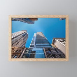 Looking up at MidCity Centre in Sydney Framed Mini Art Print