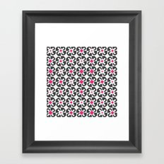 Gaudi Flower Framed Art Print