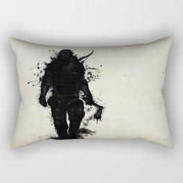 Apocalypse Hunter Rectangular Pillow