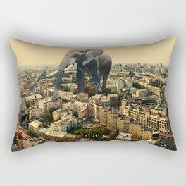 Urban Animal Elephant Rectangular Pillow