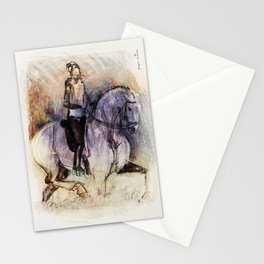 Horse (Through the puddles) Stationery Cards