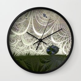 Defying the winds Wall Clock