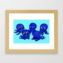 Octobabies Framed Art Print