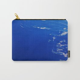 Neon Blue Ocean Carry-All Pouch