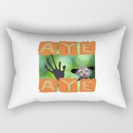 Aye-aye Rectangular Pillow