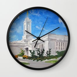 Colonia Juarez Mexico LDS Temple Wall Clock