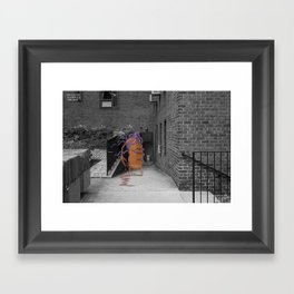 Unseen Monsters of New York - Thernody Scobiform Framed Art Print