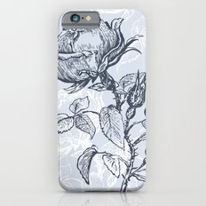 Graphic drawing roses iPhone 6s Slim Case