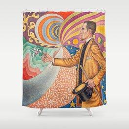 """Paul Signac """"Portrait de Félix Fénéon"""" Shower Curtain"""