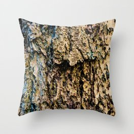 Bark 6 Throw Pillow