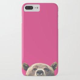Bear - Pink iPhone Case
