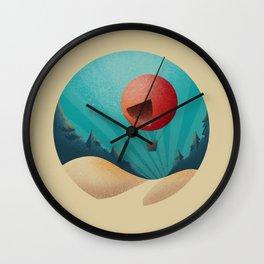 World in a Circle : Escape Wall Clock