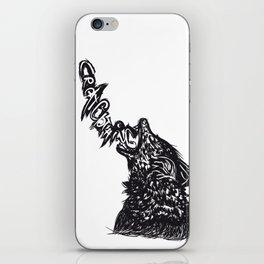 Wolfff iPhone Skin