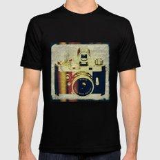 Minox camera Mens Fitted Tee Black MEDIUM