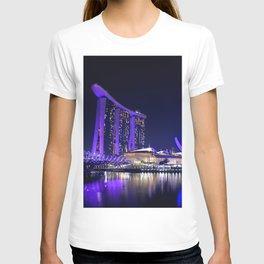 Blue Singapore by #Bizzartino T-shirt