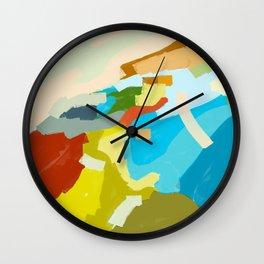 Ludington Beach Wall Clock