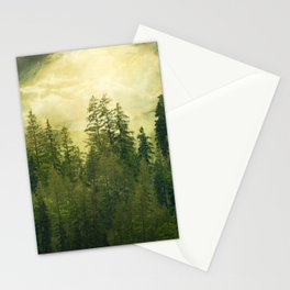 Misty Mountain Pines Stationery Cards