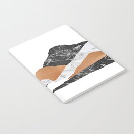 Marble Landscape II, Mountains Notebook