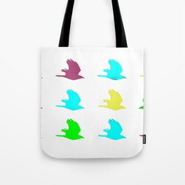 Make your own rules. Non conformist. Free spirit. Going against the grain. Damn the man. Tote Bag