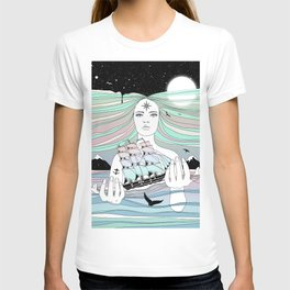Journey to A Greater Existence (Your Life On Your Hands) T-shirt