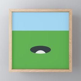 Lets play Framed Mini Art Print
