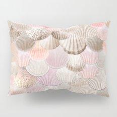 MERMAID SHELLS - CORAL ROSEGOLD Pillow Sham