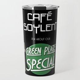 Soylent Cafe's Green Plate Special Travel Mug