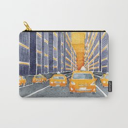 NYC, yellow cabs Carry-All Pouch