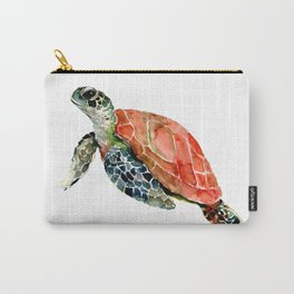 Sea Turtle, turtle art, turtle design Carry-All Pouch