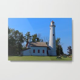 Sturgeon Lighthouse- horizontal Metal Print