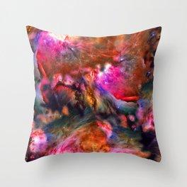 Deep Space Storm No3 Throw Pillow