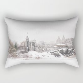 Central Park Rectangular Pillow