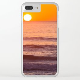 South Ponto Sunset 02 Clear iPhone Case